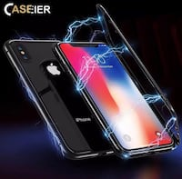 Ultra Magnetic Phone Case For iPhone X  Iphone X deksel/case 6252 km