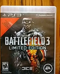 Battlefield 3 PS3 game case Pittsburgh, 15223