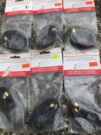 Push on cables electronic accessories BRAND NEW $1 each New Westminster, V3M