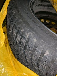 Winter tires on rim 215/60 R16 Brantford, N3T 5M1
