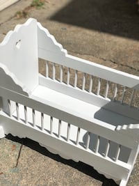 Doll cradle fits America girl dolls River Forest