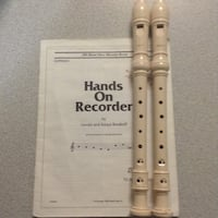 Recorder - musical instrument.