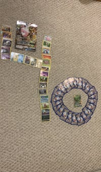 Pokémon cards With Big card 40 cards and Sceptile GX  Leesburg, 20176