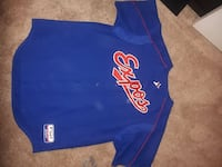 Expos baseball jersey xl from the Big O  Edmonton, T5J 1N2