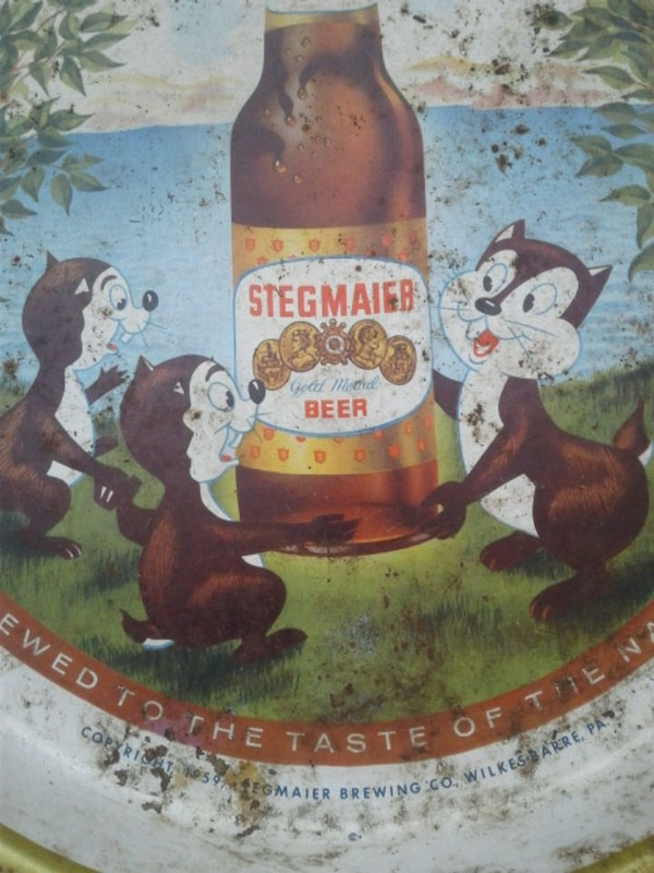 1959 Stegmaier beer tray 3