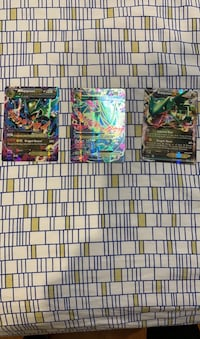 3 Mega and Ex Rayquaza Pokémon Cards Vaughan, L6A