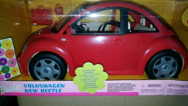 Vw Beetle Barbie Car