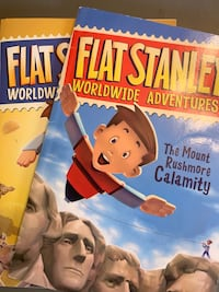 Flat Stanley - set of 9 books Whitby, L1N 4H6