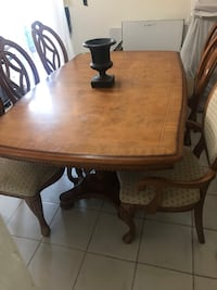 Used Wood Dining Room Table For Sale In North Miami Beach