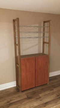 Wood wine rack storage Markham, L3R 5V3