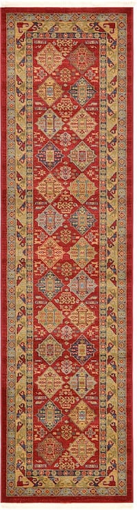 Brand new Bokhara design carpet runner size 2.7x10 nice red rug runners Burke, 22015