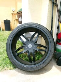 Status Universal 4 after market rims w tires Orlando, 32824