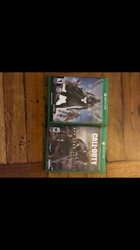 Two xbox one games  Newark, 07104