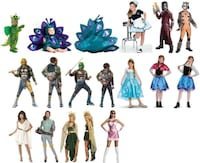 DELUXE HALLOWEEN COSTUMES all ages BRAND NEW Burnaby