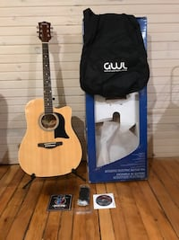 GWL George Washburn Limited ELECTRIC/ACOUSTIC Guitar PACK