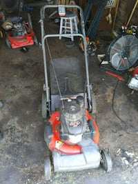 red and black push mower Mansfield, 44907