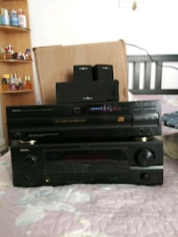Equalizer with 6 CD player compact with speakers Queens, 11435