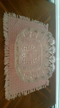 Crystal Square Tray Orlando, 32822