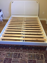 Ikea Duken metal Queen bed  Ottawa, K4M