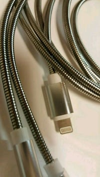 iPhone XS Max Metal USB Charger Cable 405 mi