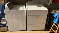 Whirlpool washer and dryer set 32 km