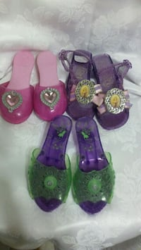 purple-and-green floral sandals Los Angeles, 91411