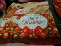Xmas material shower curtain thing Ottawa, K1G