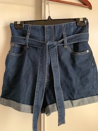 Super cute jean shorts. Never even worn. Size 1 from Ardennes Cambridge, N1P 1G3