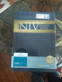 NIV Study Bible book