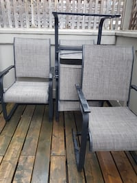 High quality Patio chairs (4) Mississauga