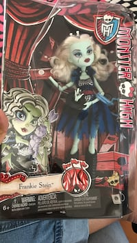 Frankie Stein Monster High doll in box Vancouver, V6P