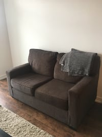 Grey 2 seater couch very comfotrable!!!  Oakville, L6M 4J2