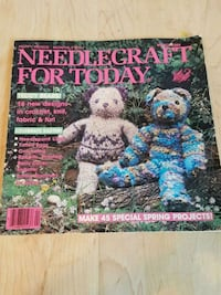 Vintage Happy Hands Monthly - Patterns March 1984 Airdrie, T4B 0E4