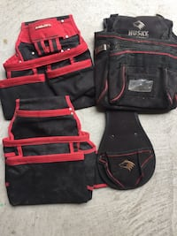 Hilti tool pouch and a husky tool pouch Toronto