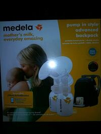 Medela Breast Pump and accessories.(Never opened) Baltimore, 21217