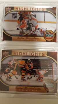 Carte d'hockey upper deck
