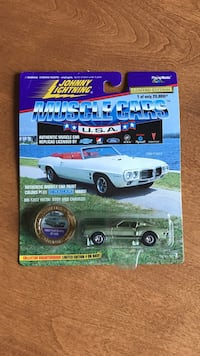 1996 Johnny Lightning series 2 '68 GT500 New Berlin, 53151