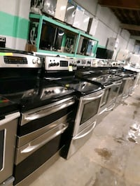 STAINLESS STEEL ELECTRIC STOVES WORKING PERFECTLY 4 MONTHS WARRANTY