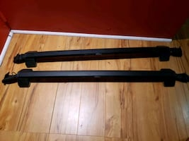 Car Roof Rack  with ski attachment
