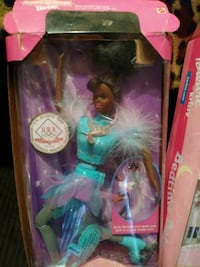 blue dressed Barbie doll box Dallas, 75233