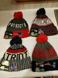Patriots Winter Beanies! Makes a Great Gift! 396 mi