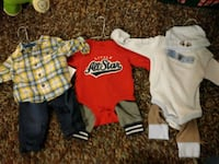 3 Outfits Size 3-6 Months Costa Mesa, 92626