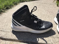 Black and White Adidas Basketball Shoes  Calgary, T2C 0W7
