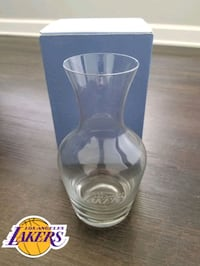 LOS ANGELES LAKERS Glass Vase (New) Rancho Santa Margarita, 92688