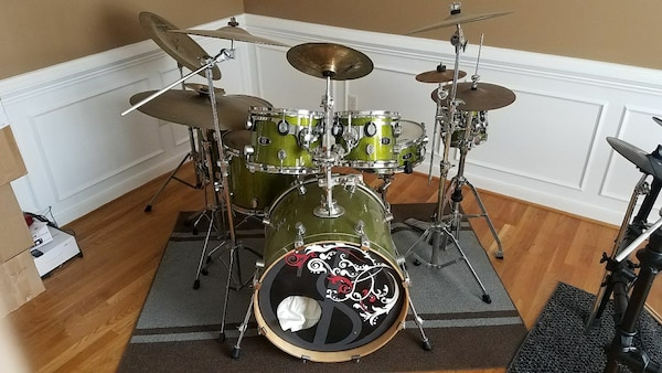 Used Pdp X7 Drum Set With Cymbals And Stands For Sale In Prince