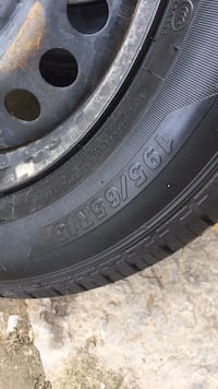 black auto wheel with tire Thorold, L2V