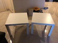 2 side tables $20 for both   Margate, 33063