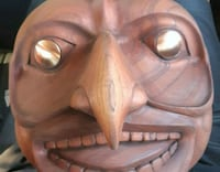 First nations carved mask HAWKMAN Surrey, V3R 1T2