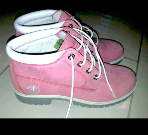 Timberland rosa Boots  gr 39/40
