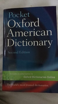 Oxford American Dictionary Lake Forest, 92630